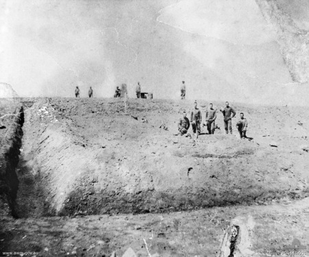 Suakin, Sudan 1885 - the grave of Robert Weir the first Australian to die on active duty in the Sudan.