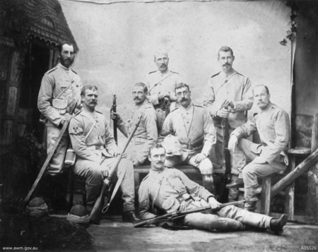 Sydney, NSW, 1885: infantrymen of the NSW Contingent to the Sudan