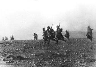 North Africa, 6 January 1941: Australian troops advance into Bardia.