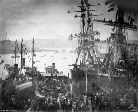 Sydney, 3 March 1885 - Departure of the NSW Contingent for the Sudan